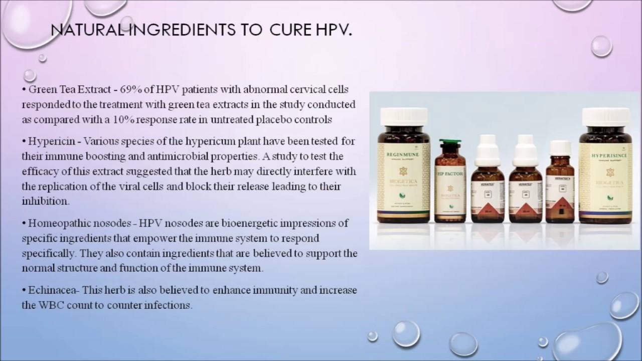 treatment for papilloma virus)