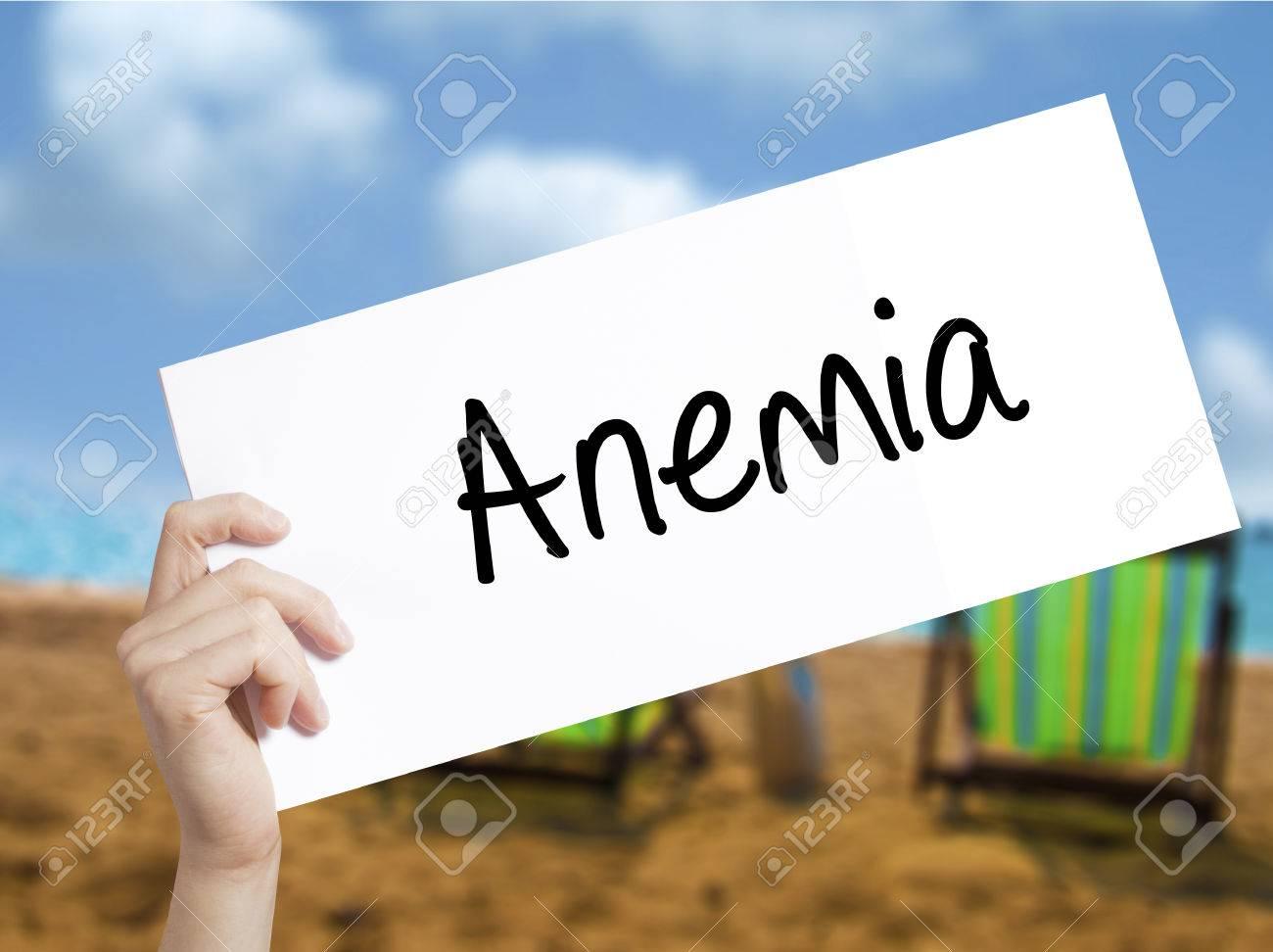 anemie zeichen)