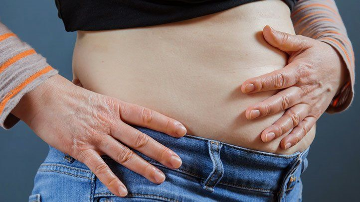 Cancer risk abdominal fat.