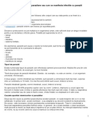 paraziti interni apicomplexans)