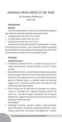 Anemia cu deficiență de fier - divastudio.ro