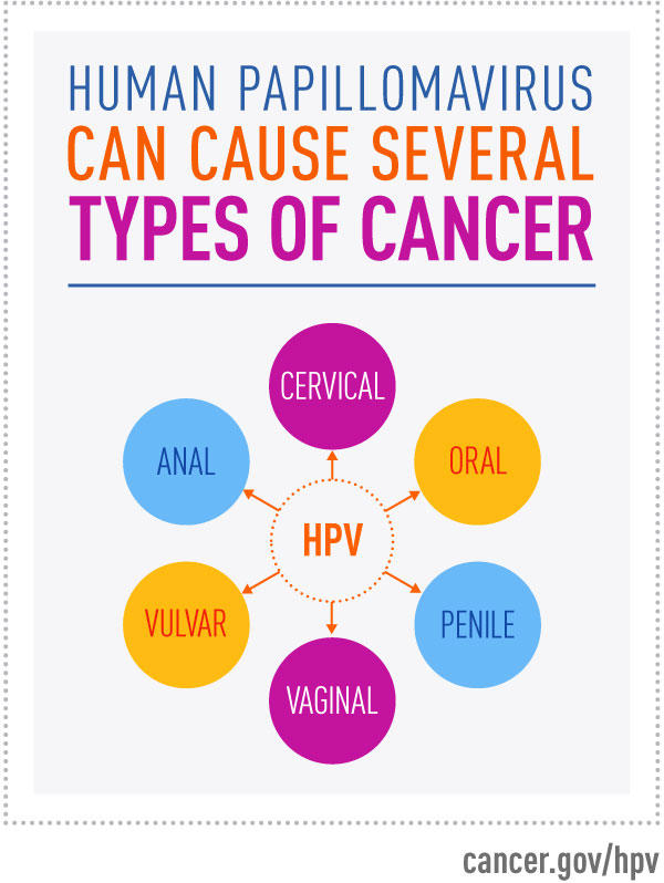 Cancer from hpv in males.