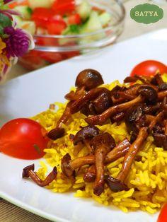 Friptură de mânzat la grătar cu ciuperci shimeji și spanac - Alandalicious