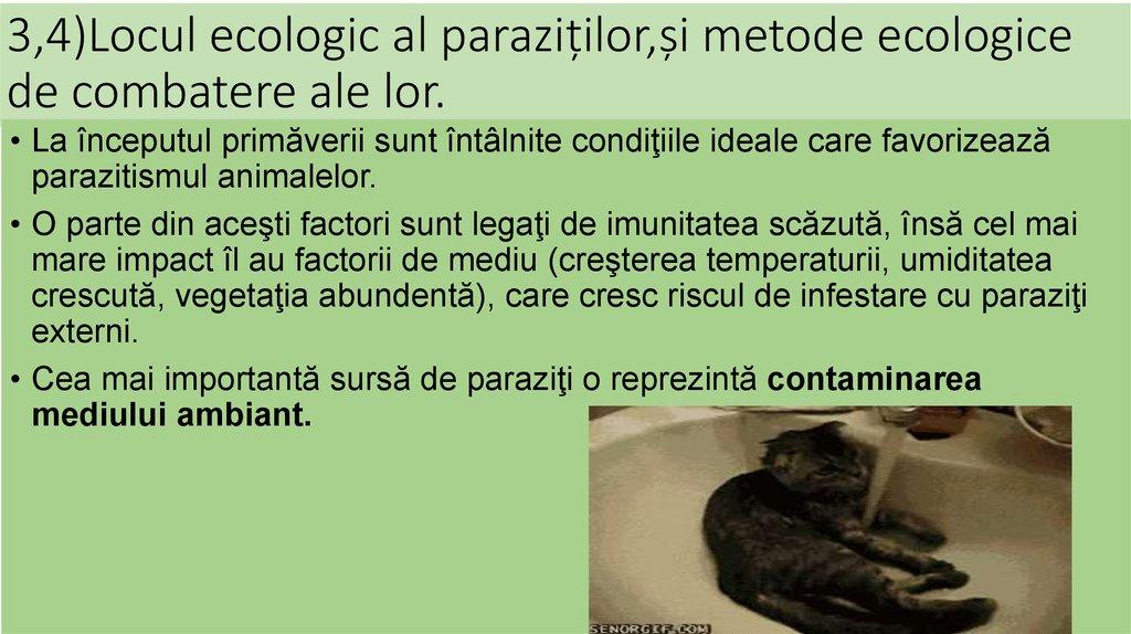 paraziți și vectori ppt)