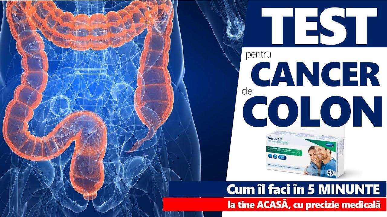 cancer colon drept simptome)