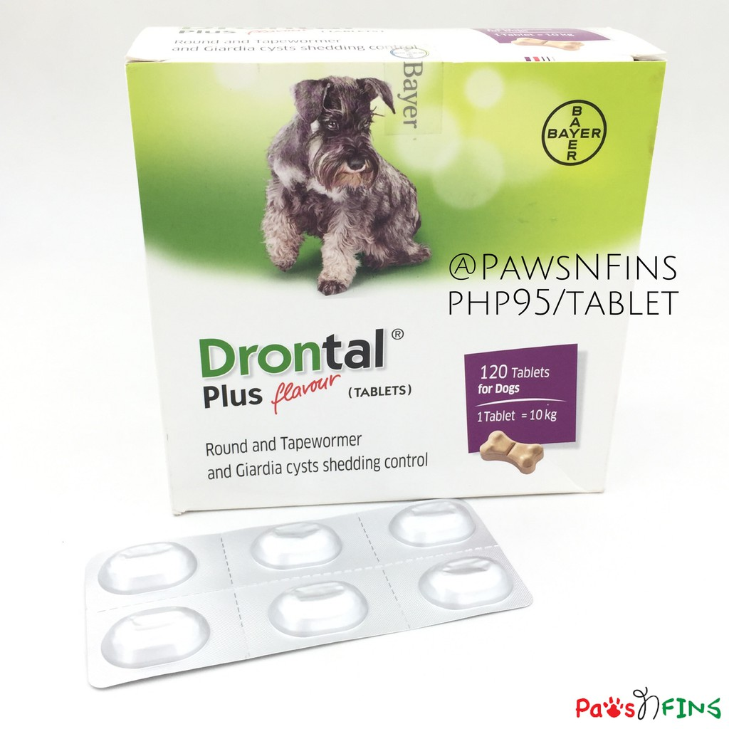 Drontal® Plus 150/144/50 mg tablete aromate A.U.V.