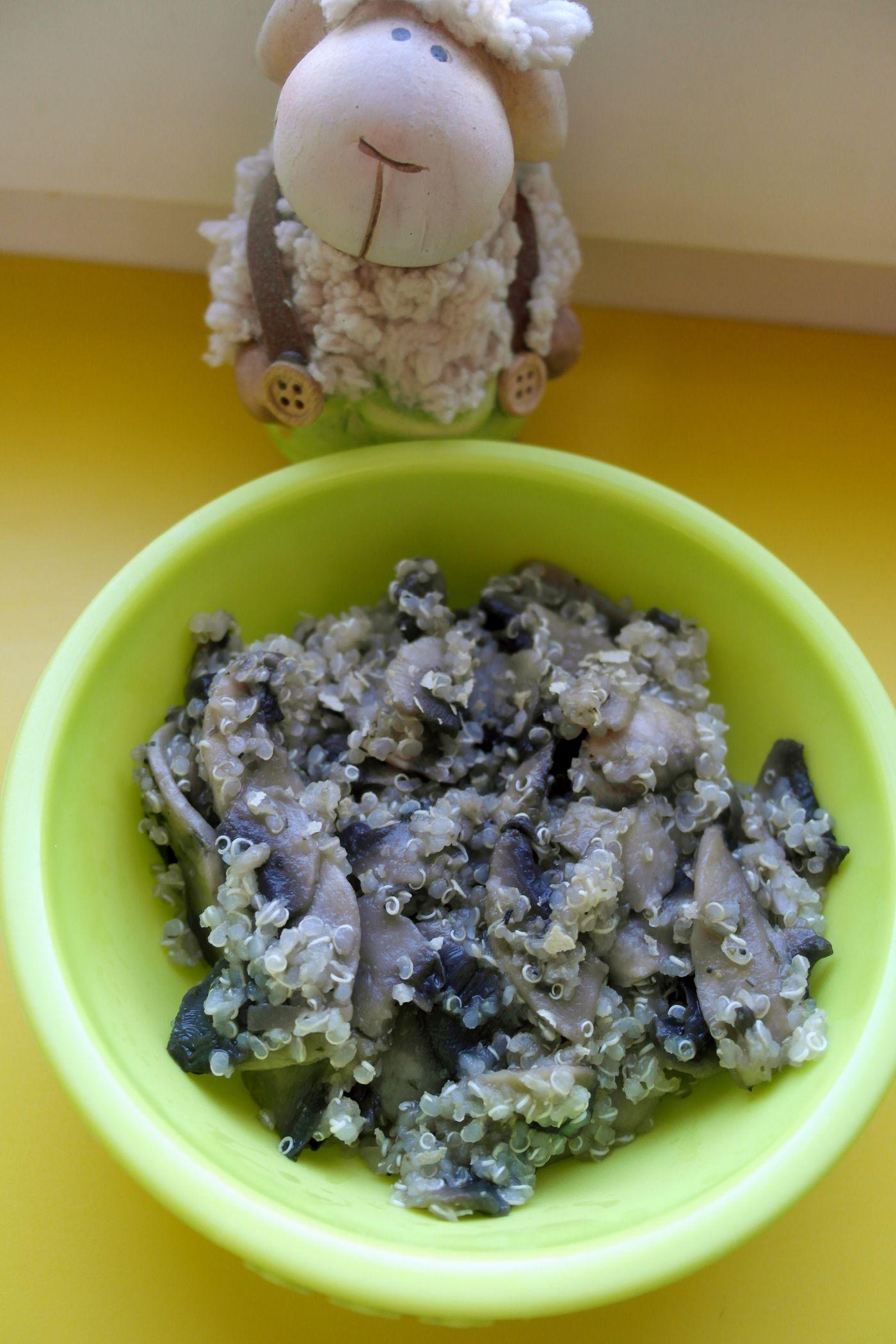 Tocanita de ciuperci cu legume si quinoa | MY CHOICE FOR HEALTH