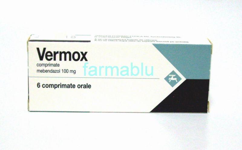 vermox pentru copii)