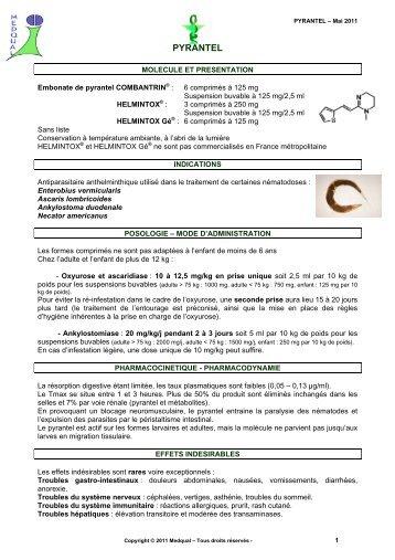 medicament antiparazitar cu spectru extins
