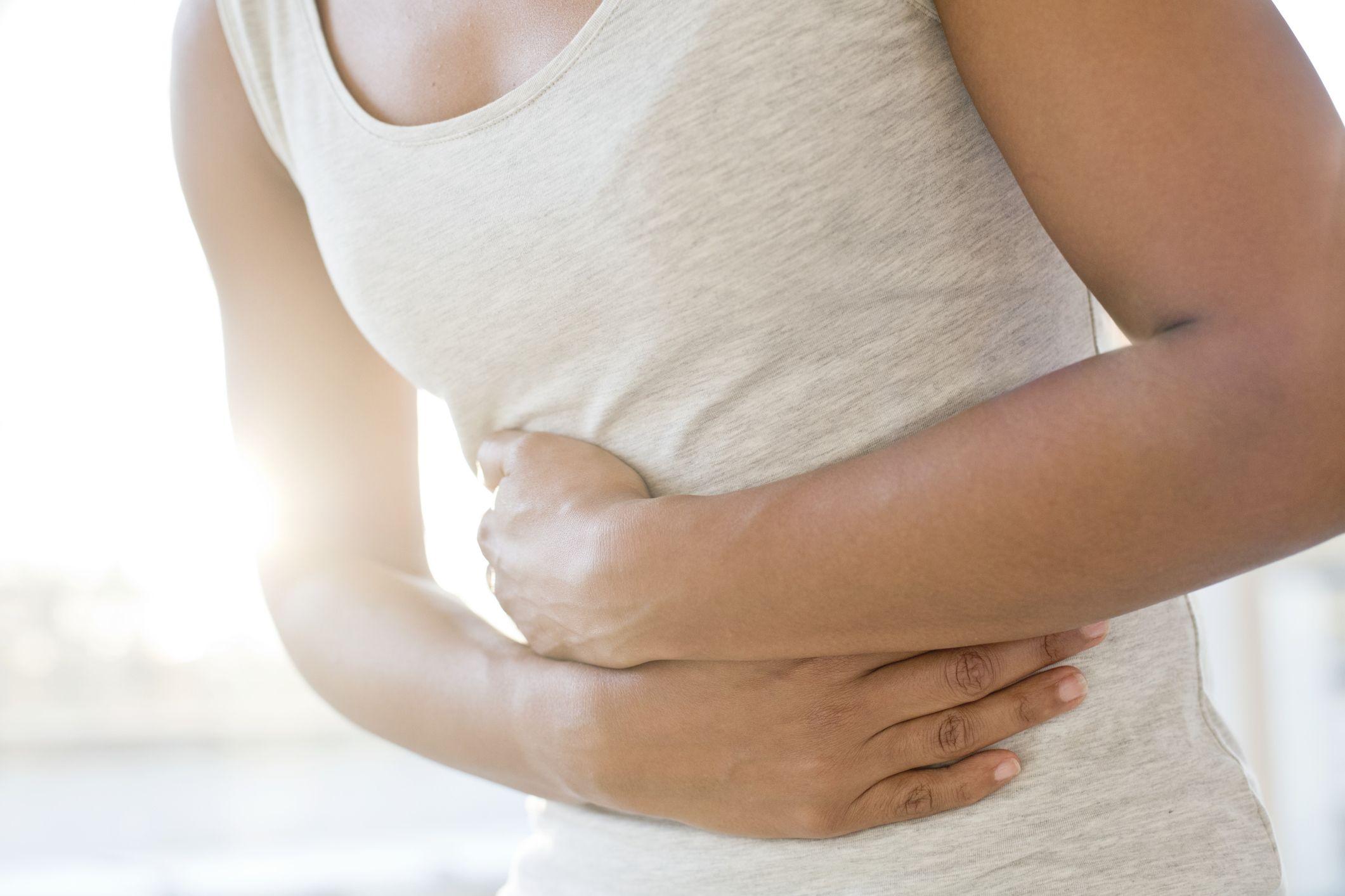 colon cancer abdominal distension)