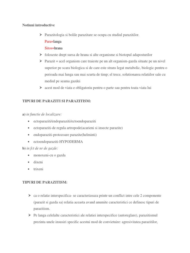 reguli pentru transmiterea enterobiozei