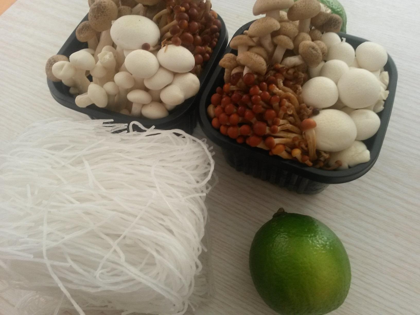 Ciuperci Shimeji sotate   Food and beyond…
