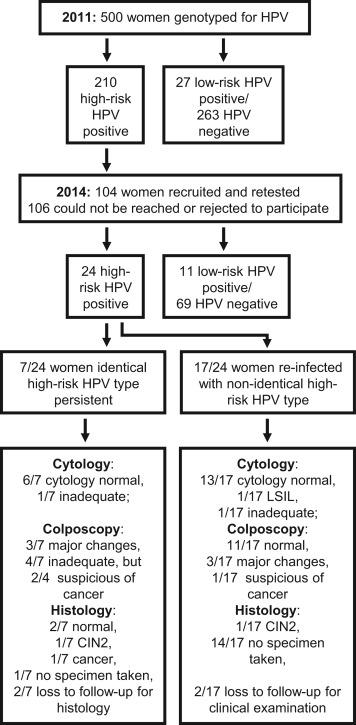 Hpv high risk a detected