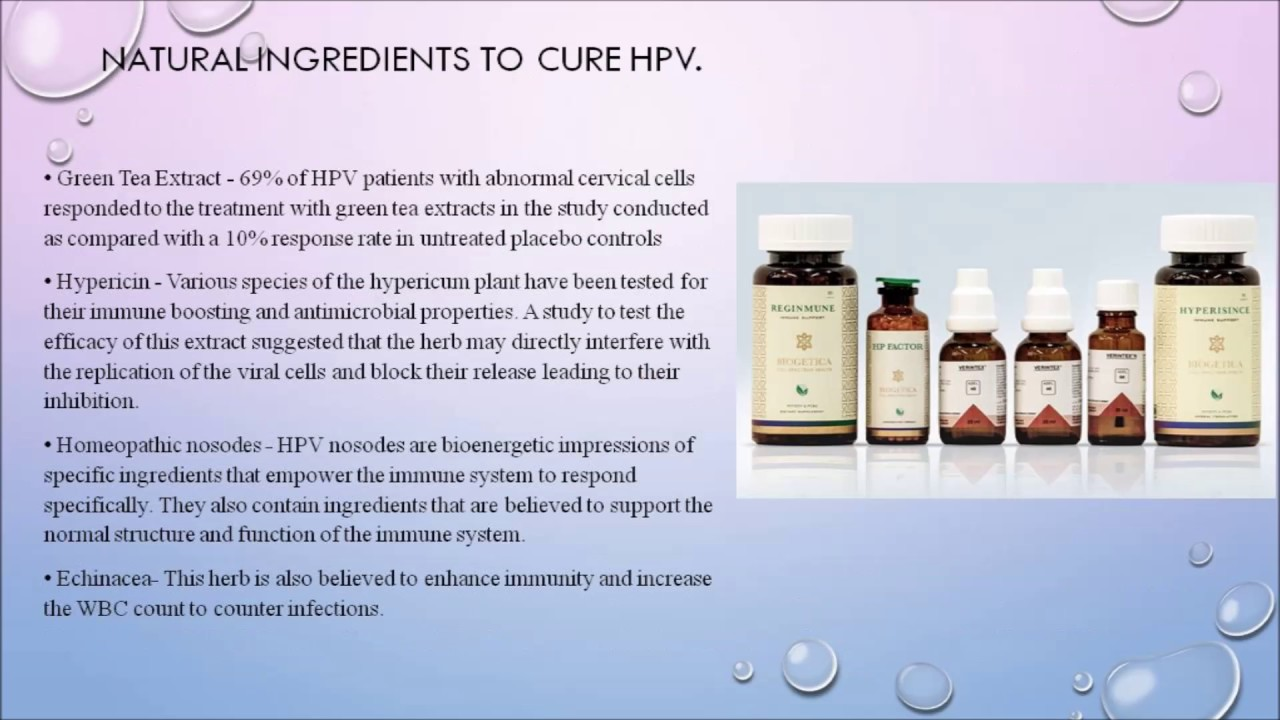 hpv virus alternative treatment)