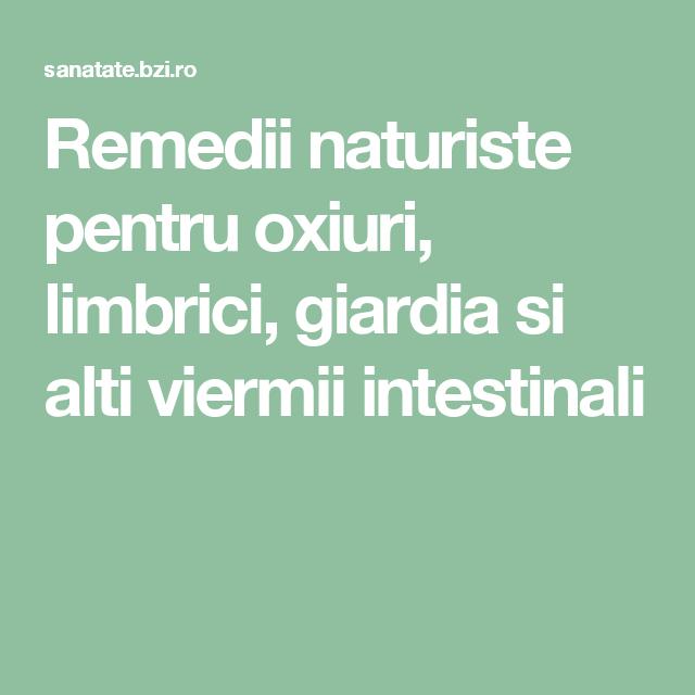 viermi giardiasis)
