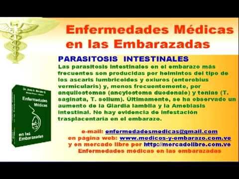 Parasitos oxiuros en embarazadas