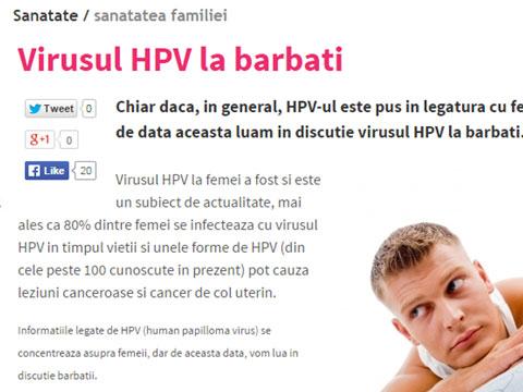 hpv virus la femei