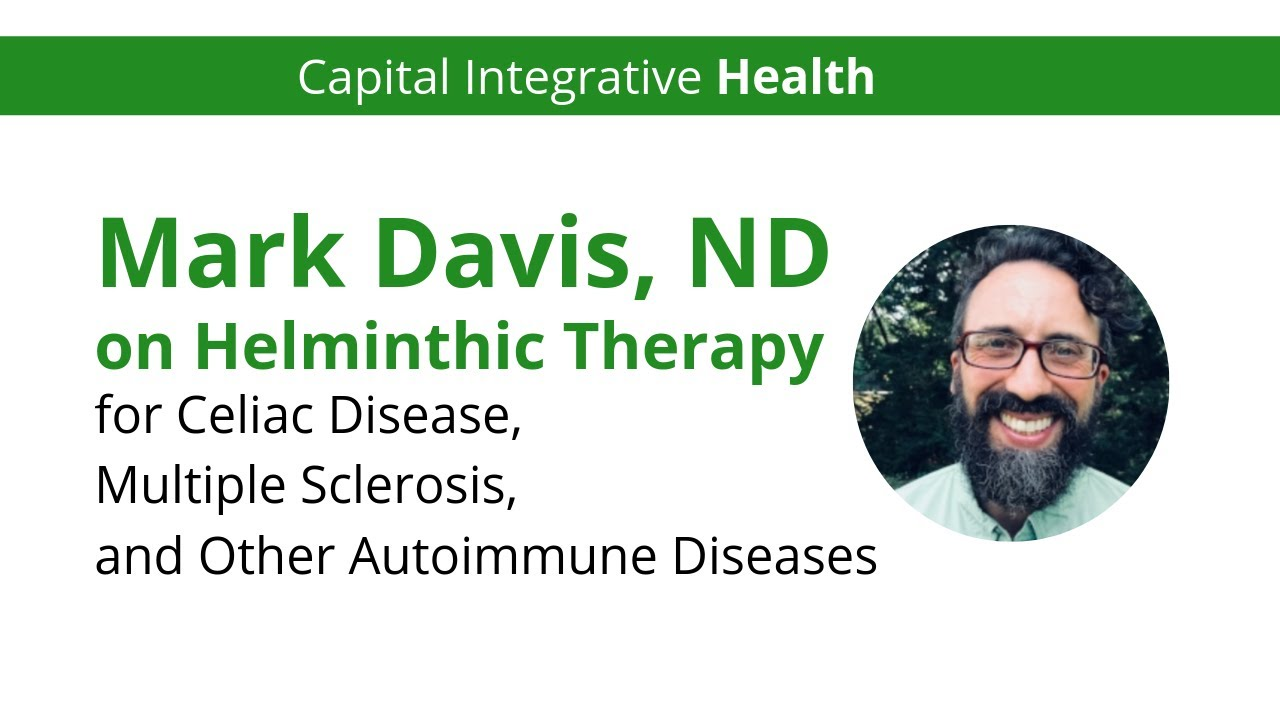 Helminth and celiac disease
