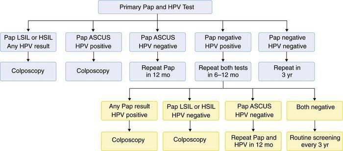 hpv treatment colposcopy