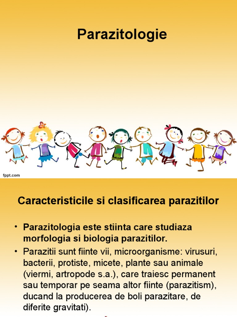 boli parazitare