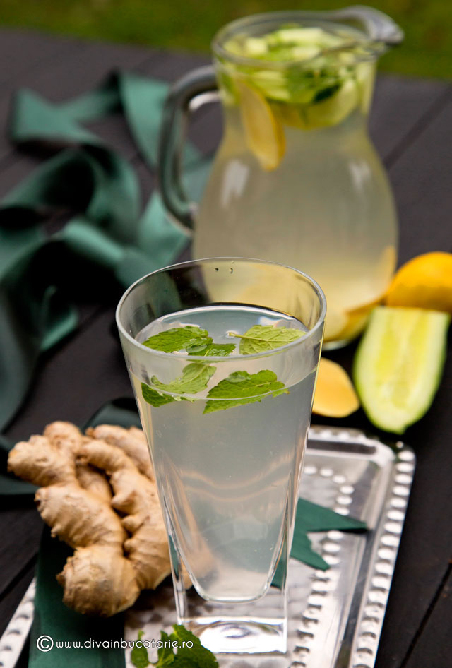 detoxifiere cu apa cu lamaie)