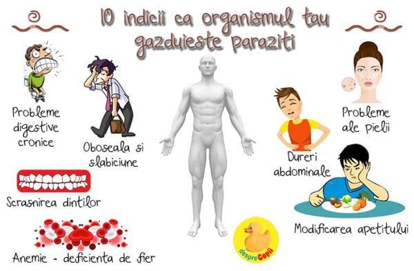 tratamentul paraziților de ciul)