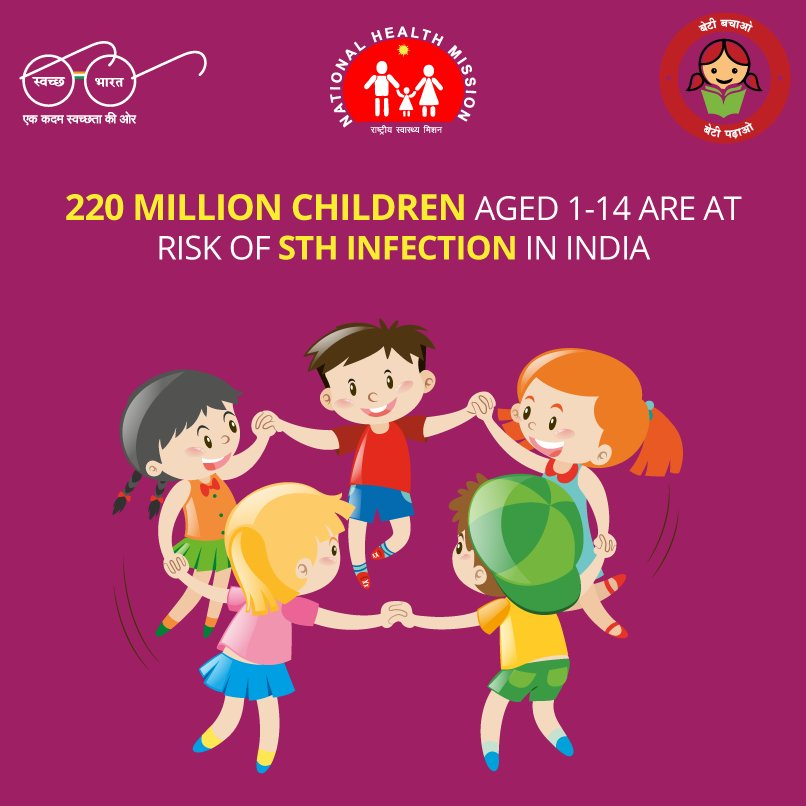 helminth infection in child)