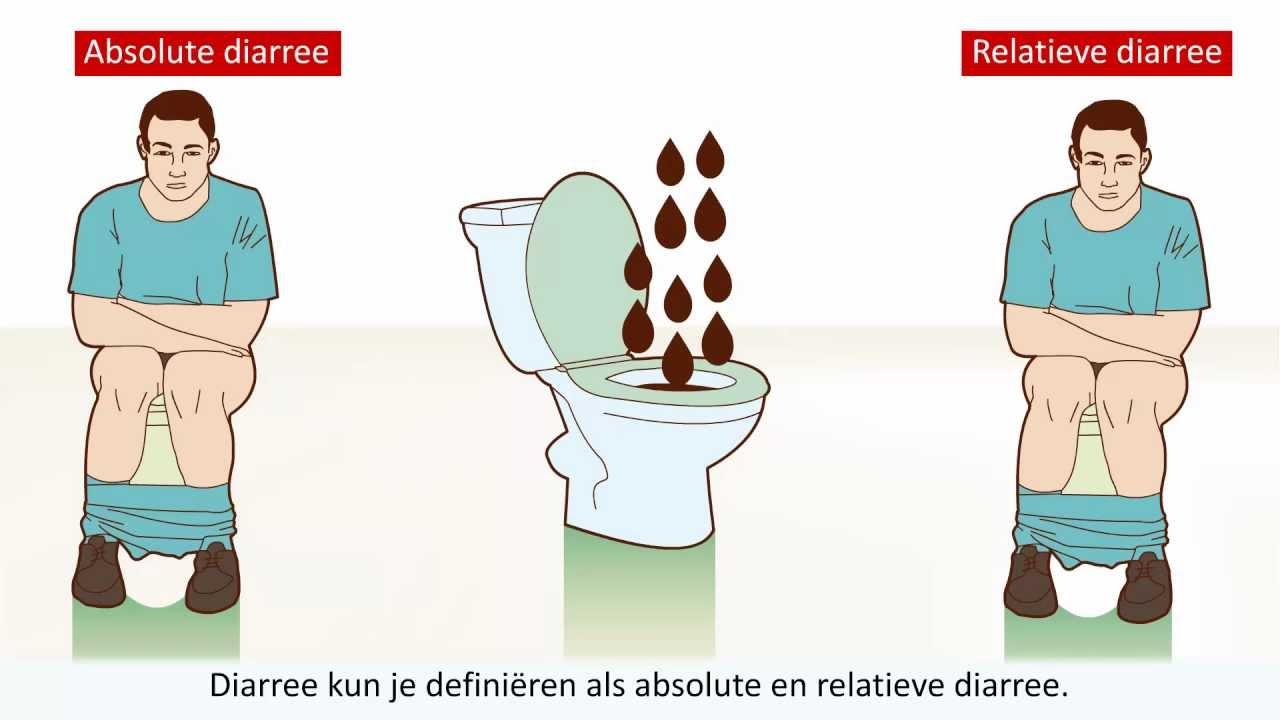 diarree wat doen)