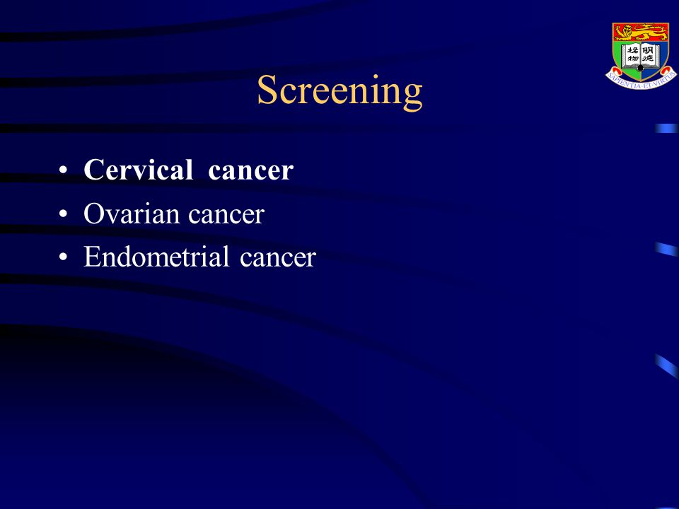 endometrial cancer hong kong