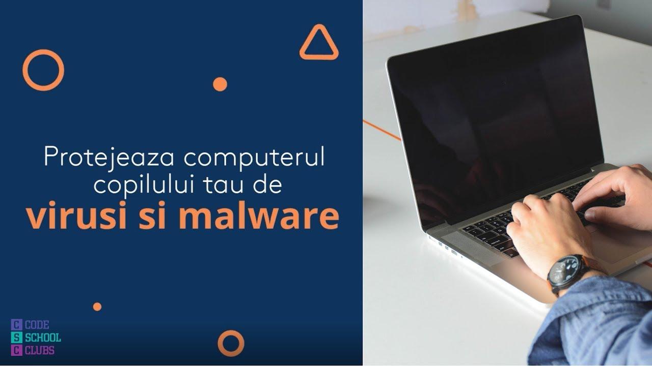 virusi malware)