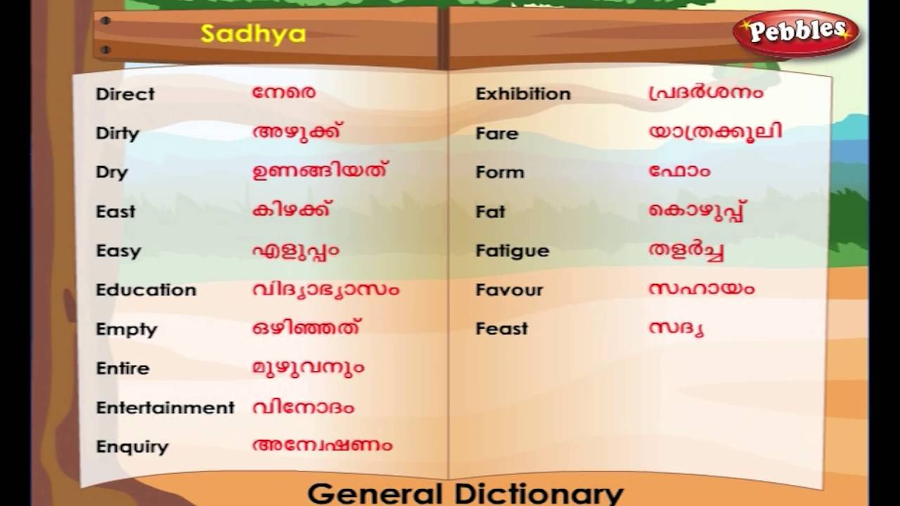 Anthelmintic in malayalam