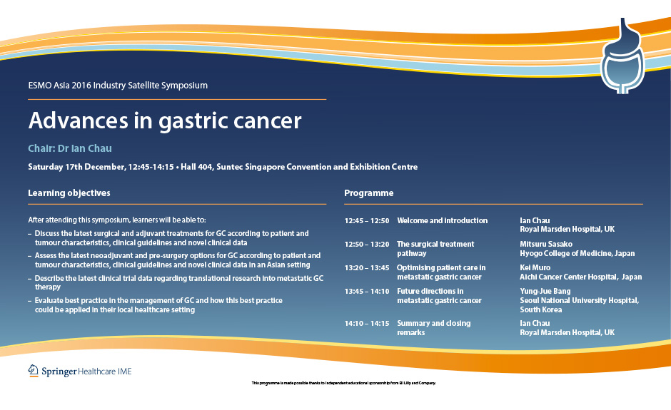 Gastric cancer esmo, 46. C. Stomacului