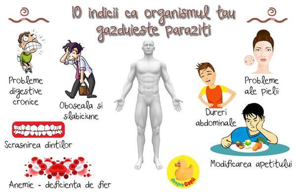 cum să tratezi corpul de viermi)