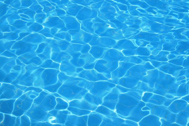 oxiuros y piscina