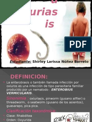 oxiuriasis definicion)