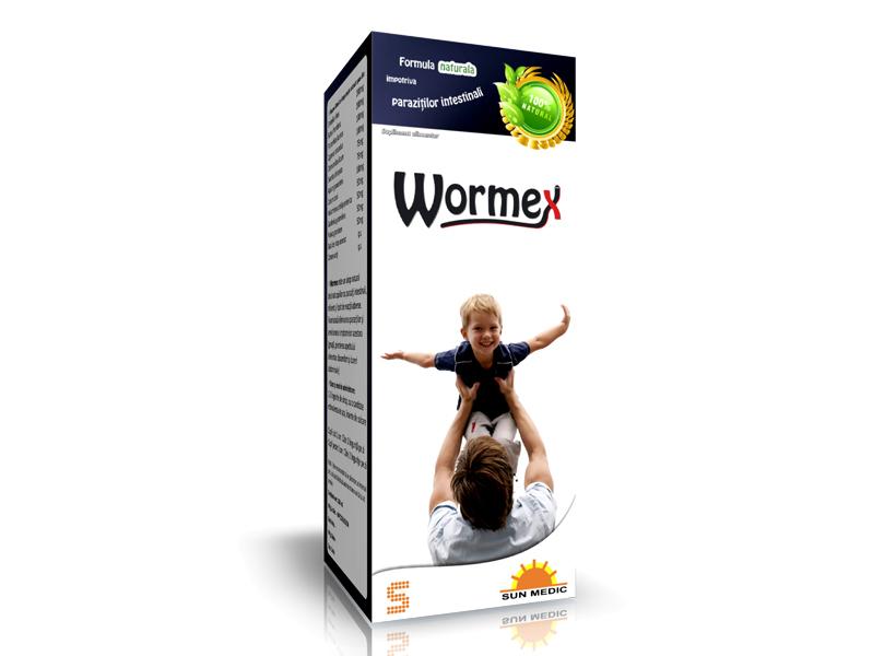 wormex pt copii