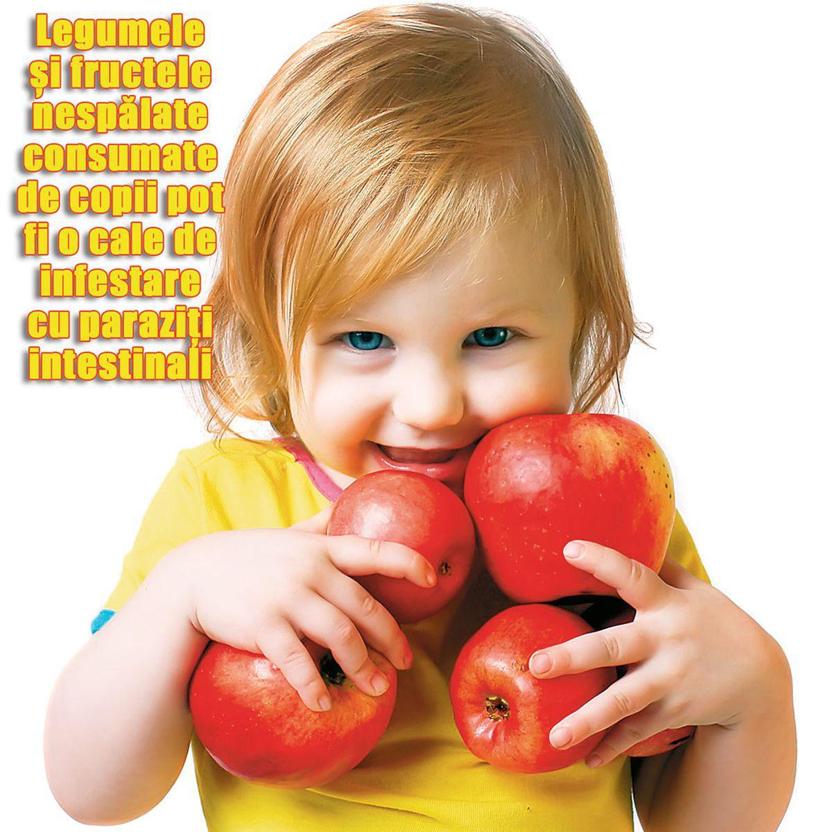 tratarea unui copil împotriva viermilor