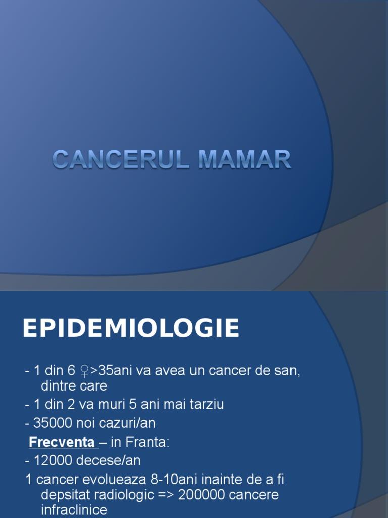 Cancerul glandei mamare ppt, CANCERUL autosuprem.ro - Documents