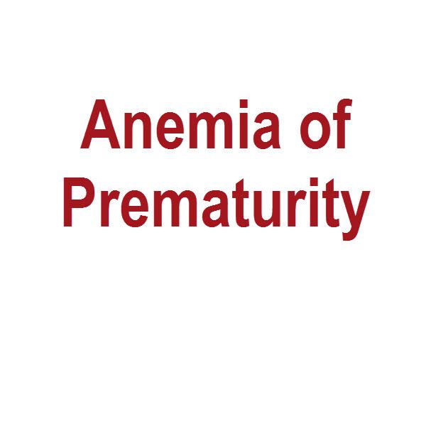 anemie neonatala