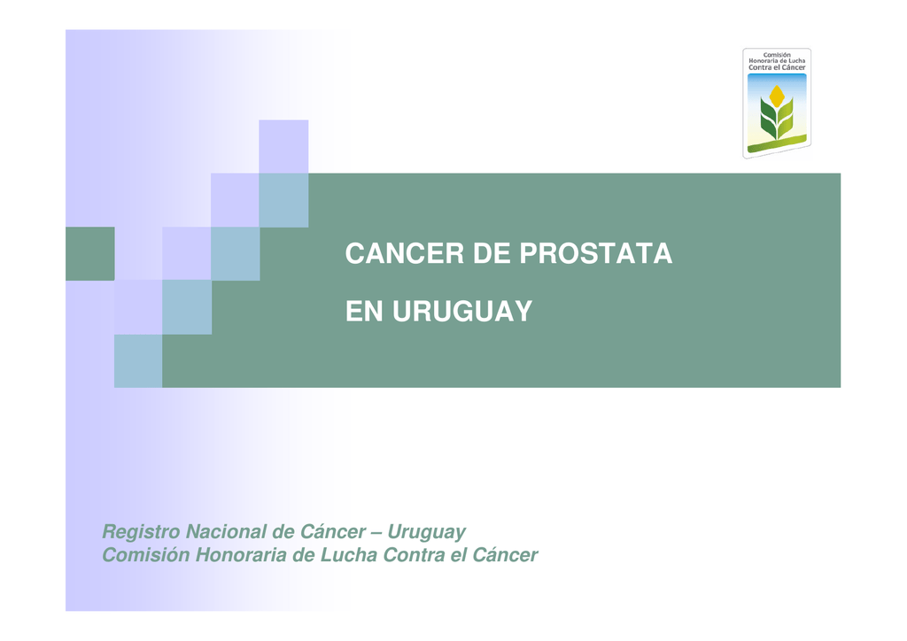 cancer de prostata uruguay