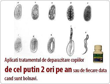 tratament cu siliciu pentru paraziți)