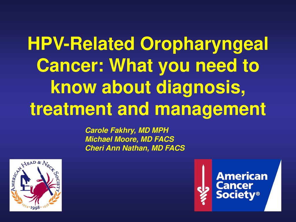 Hpv and head and neck cancer ppt. Bolile faringelui | Health Sciences | Wellness