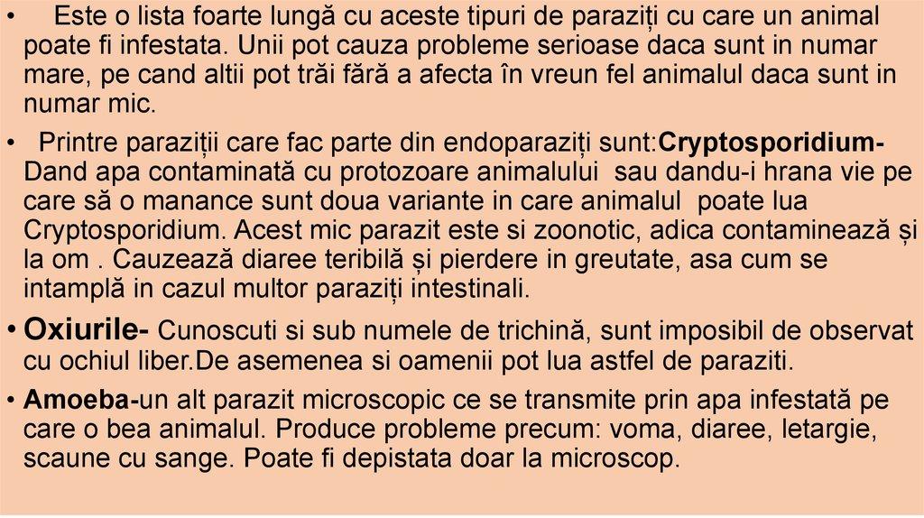 blog de paraziți și vectori)