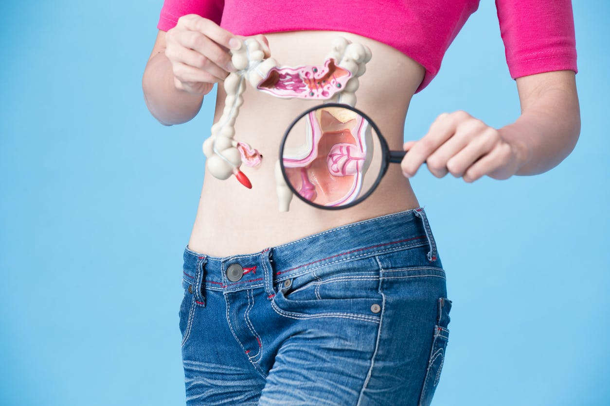 cancer abdominal symptome)