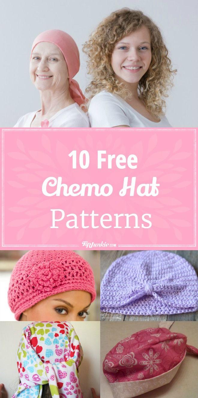 Cancer cap patterns to sew. 10 modele confortabile Chemo Hat pentru pacienții cu cancer