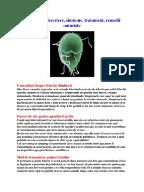Giardiaza, tratamentul simptomelor ,cele mai puternice metode împotriva paraziților