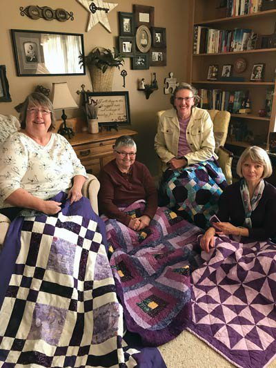 pancreatic cancer quilt