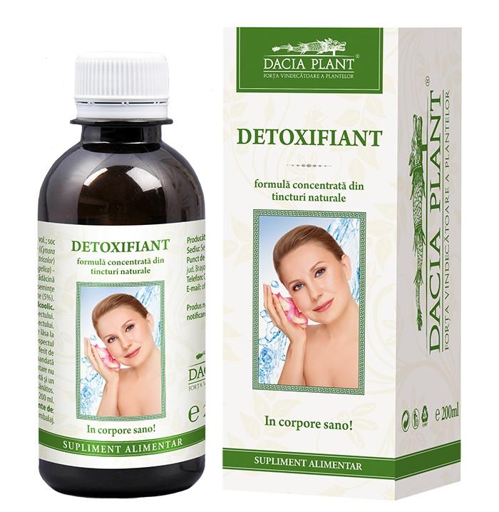 Detoxifiant tinctura ml - Dacia Plant