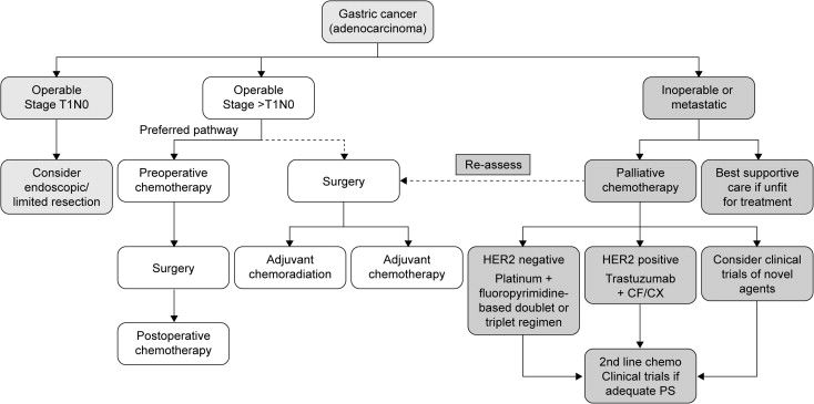 gastric cancer new treatment)