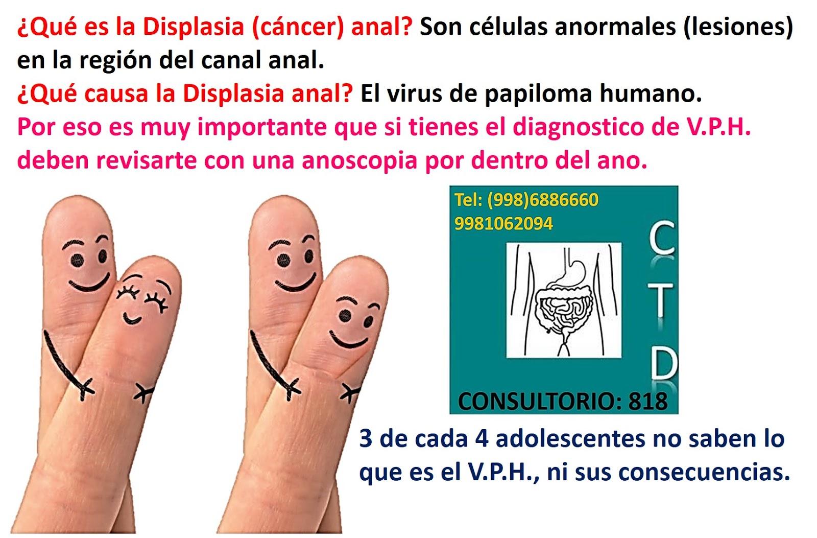 virus papiloma y displasia)